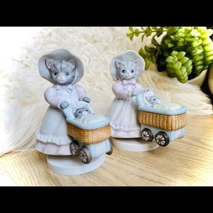 Vintage Kitty Cucumber Schmid MusicBoxes